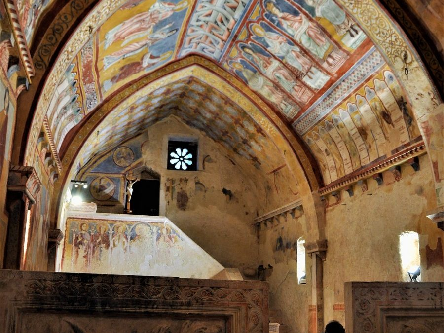 oratorio di s pellegrino bominaco